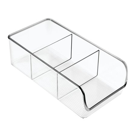 InterDesign Linus Kitchen, Pantry, Refrigerator, Freezer Storage Container - Clear