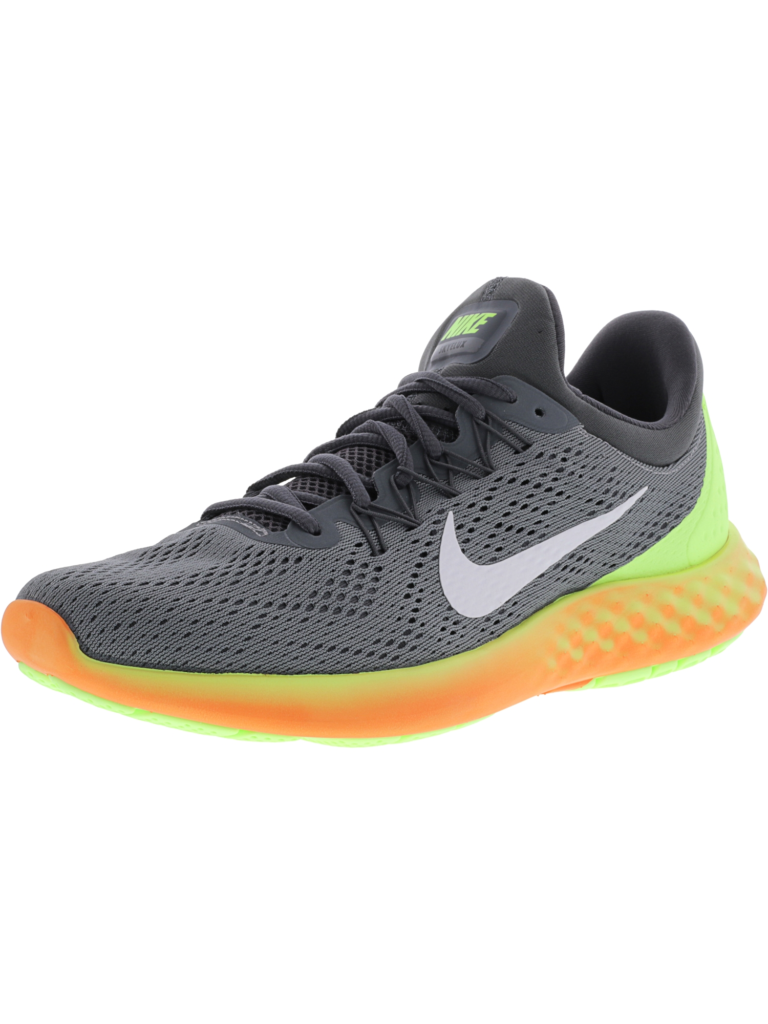 online store 9fd34 92223 ... training shoes 13a06 5e69b  sweden product image nike mens lunar  skyelux cool grey white dark volt ankle high fabric running