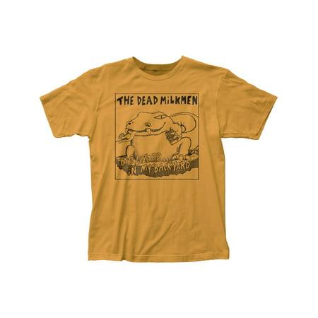 Dead Milkmen Punk Rock Band Big Lizard Adult Fitted Jersey T-Shirt Tee