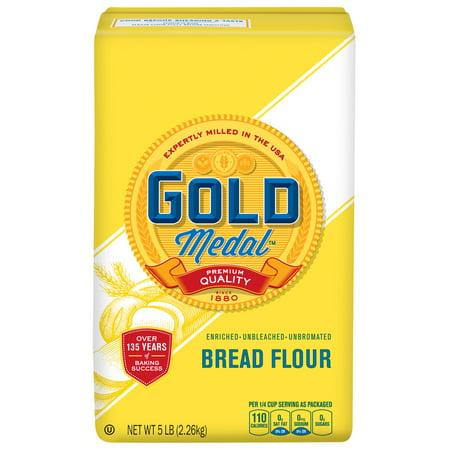 Gold Medal Unbleached Bread Flour  5 Lb