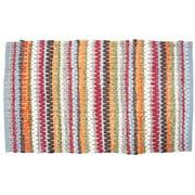 J & M Home Fashions Chindi Stripe Rug