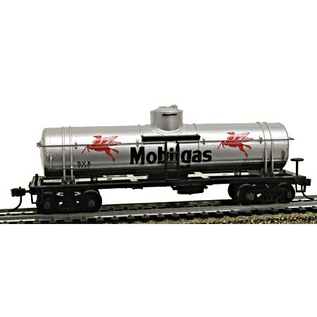 Model Power HO 40' 1-Dome Tank, Mobil Multi-Colored