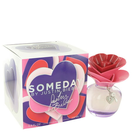 Justin Bieber Someday Eau De Parfum Spray for Women 3.4 oz