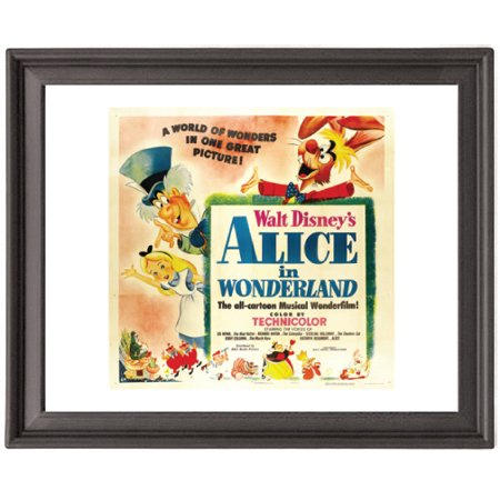 Christmas Wonderland Pictures (Alice in Wonderland 3 - Picture Frame 8x10 inches - Poster -)