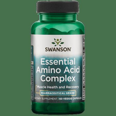 Swanson Essential Amino Acid Complex - Pharmaceutical Grade 60 Veg Caps