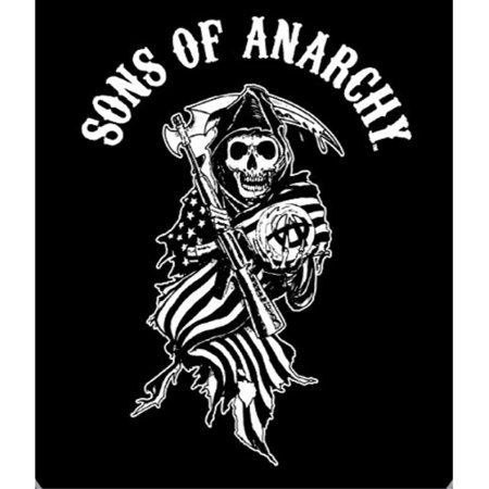 Reaper Flag Sons of Anarchy Super Plush Throw Blanket ()