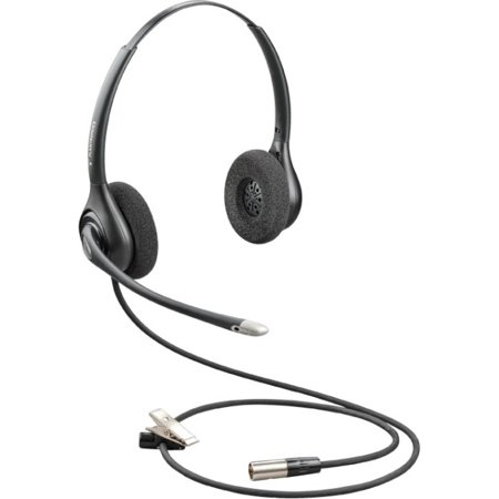 Stereo Wired Headset (Plantronics HW261N-DC Headset Stereo Quick Disconnect  Wired OTH )