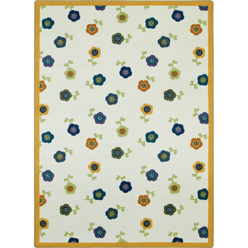 Joy Carpets Just for Kids Awesome Blossom Bold Area Rug