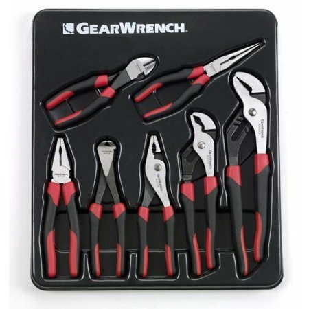 Kd Gearwrench 7 Piece - Kd Tools 82108 7 Piece Gearwrench Mixed Pliers Set