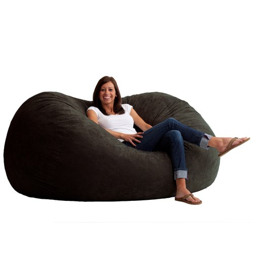Big Joe XL 6u0027 Fuf Bean Bag Chair Multiple Colors/Fabrics  sc 1 st  Walmart & Big Joe XL 6u0027 Fuf Bean Bag Chair Multiple Colors/Fabrics - Walmart.com