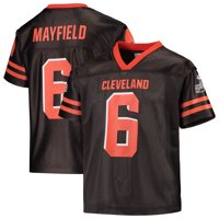 Youth Baker Mayfield Brown Cleveland Browns Replica Jersey