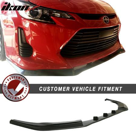 fits 14-16 scion tc coupe 2dr ikon v3 style front bumper lip urethane (Scion Rear Bumper)