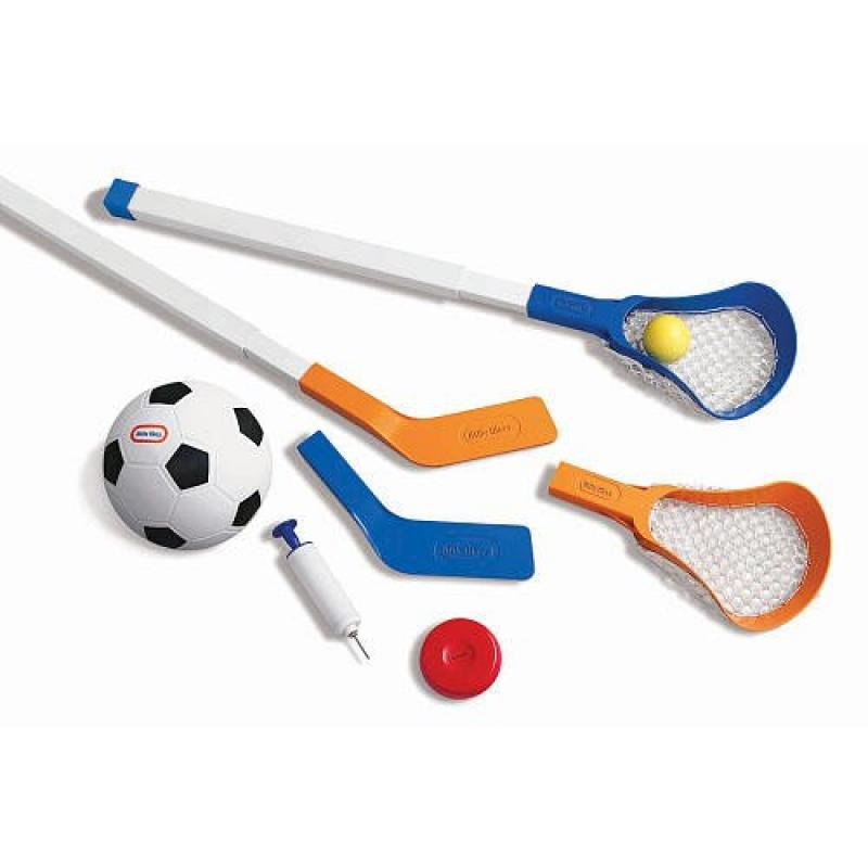 Little Tikes Easy Score Soccer, Hockey and Lacrosse Set by