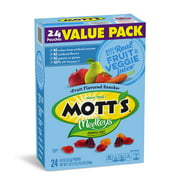 Mott's Medleys Assorted Fruit Flavored Snacks Pouches, 0.8 Oz., 24 Count
