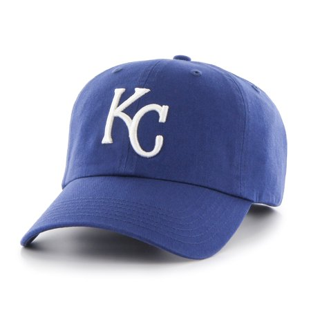 47 Brand  Kansas City Royals MLB Clean Up Hat - 47 Brand Blank Hats