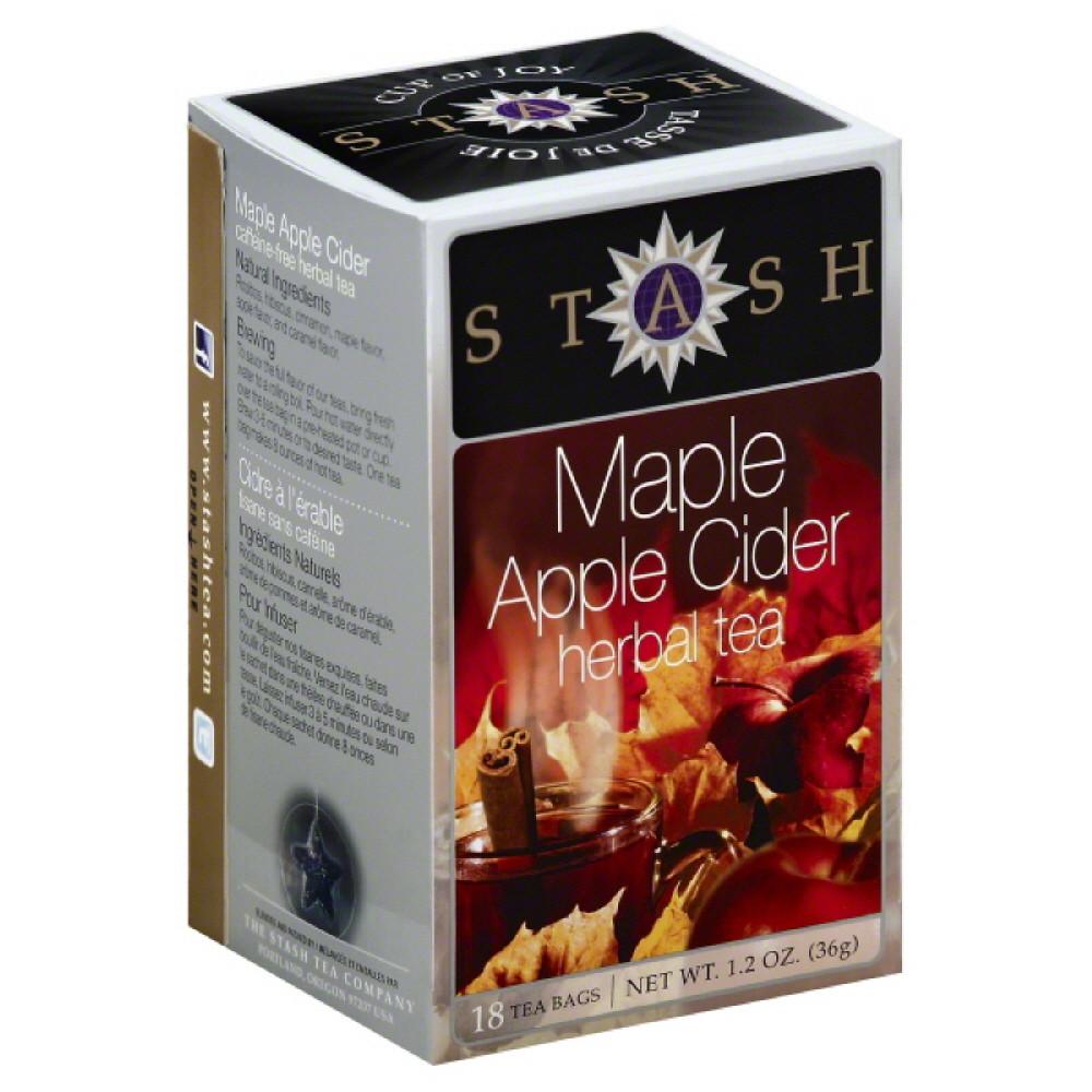 Stash Tea Maple Apple Cider, 18 Bg (pack Of 6)
