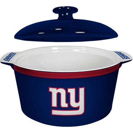 NFL New York Giants Ceramic Game Time Oven Bowl by