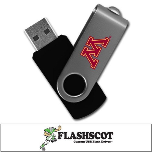 Minnesota Golden Gophers Revolution USB Drive - 8GB