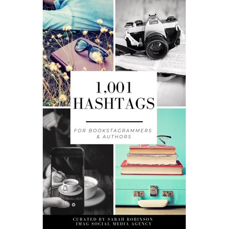 1,001 Hashtags for Bookstagrammers & Authors - eBook - Cool Hashtags For Halloween