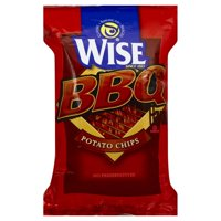 Wise BBQ Flavored Potato Chips, 6.75 Oz.