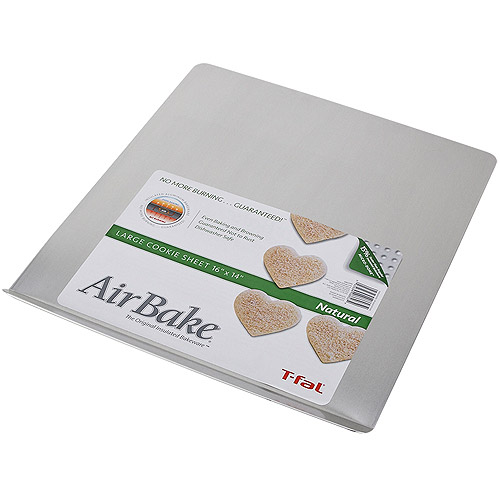 "T-Fal AirBake Natural Cookie Sheet, 16"" x 14"""