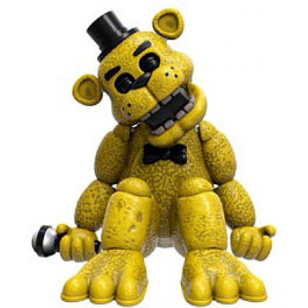 Funko Five Nights at Freddy's Golden Freddy Vinyl Mini Figure [No Packaging] (Halloween At Freddy's Tryhardninja)