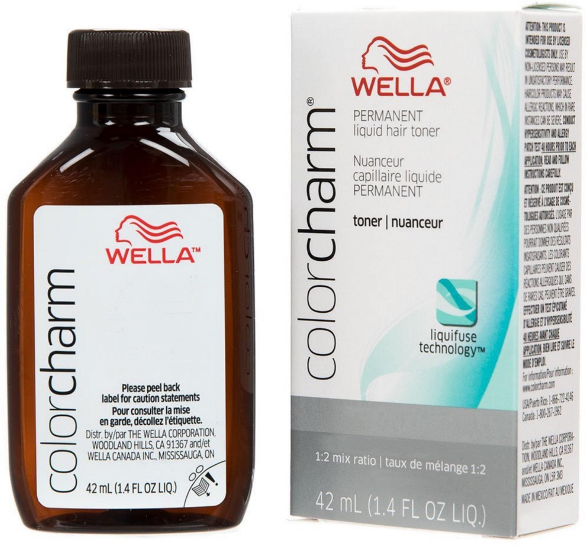 Wella - WELLA COLOR CHARM, HAIR COLOR Permanent Liquid ...