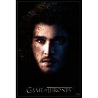 Game of Thrones - Season 3 - Jon Snow Laminated & Framed Poster (24 x 36)