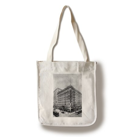 Los Angeles, CA View of Hotel Alexander Photograph (100% Cotton Tote Bag - Reusable) ()