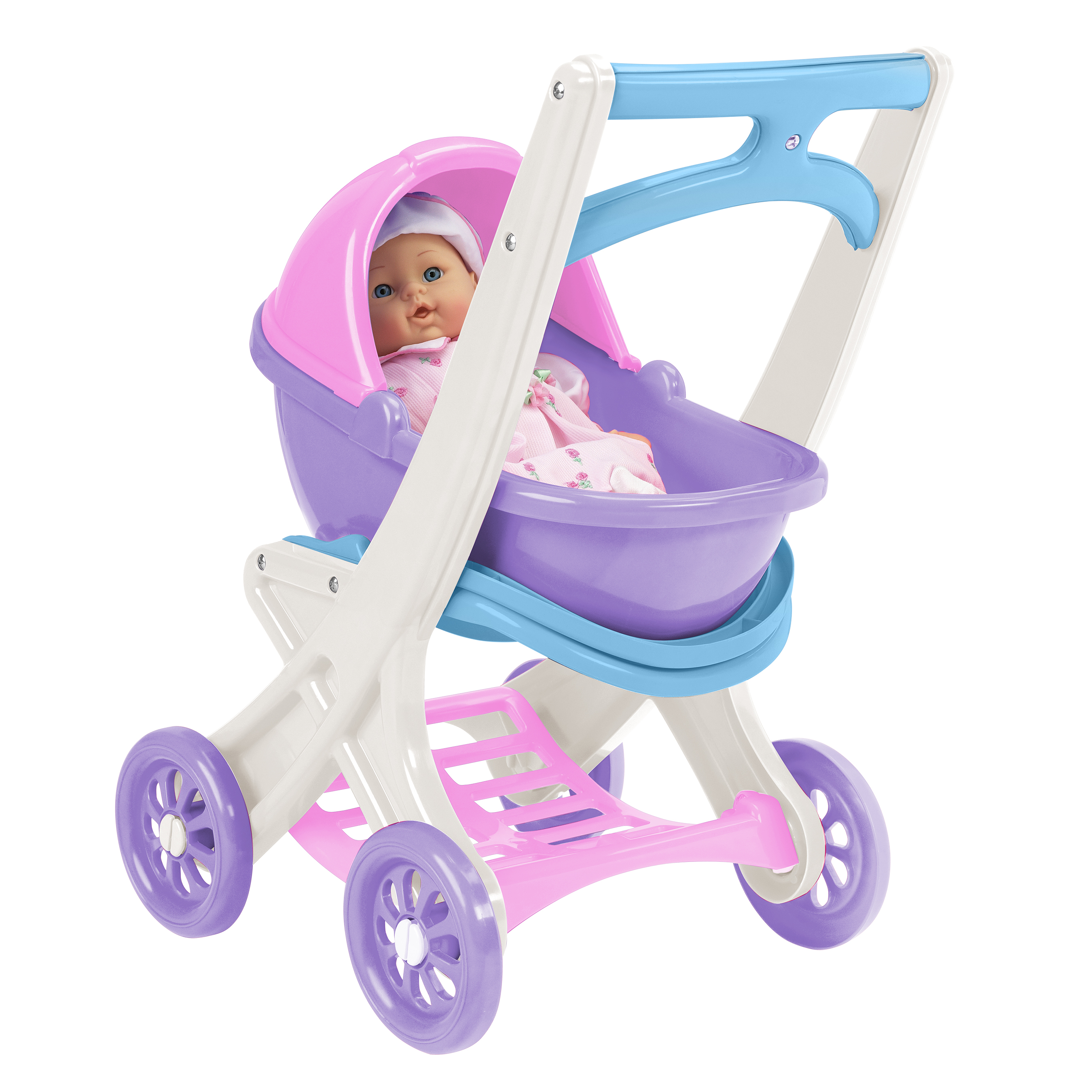 American Plastic Toys On-the-Go Stroller