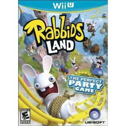 Rabbids Land Wii-U by Ubisoft
