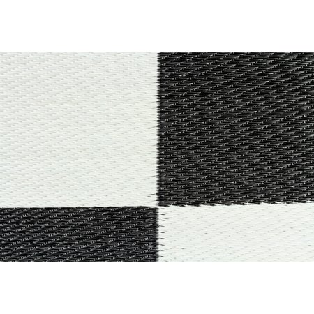 Camco 9 X 12 Reversible Rv Outdoor Mat Camping Mat Checkered