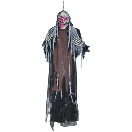 Hanging Creepy Reaper 5' Halloween Decoration (Creepy Games To Play On Halloween)