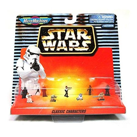 Classic Characters Star Wars Micro Machines Figure Collection