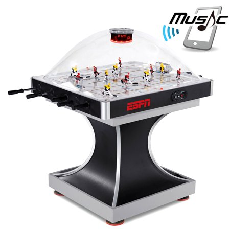 Espn Supreme Dome Stick Hockey With Overhead Electronic Scorer  Bluetooth Compatible