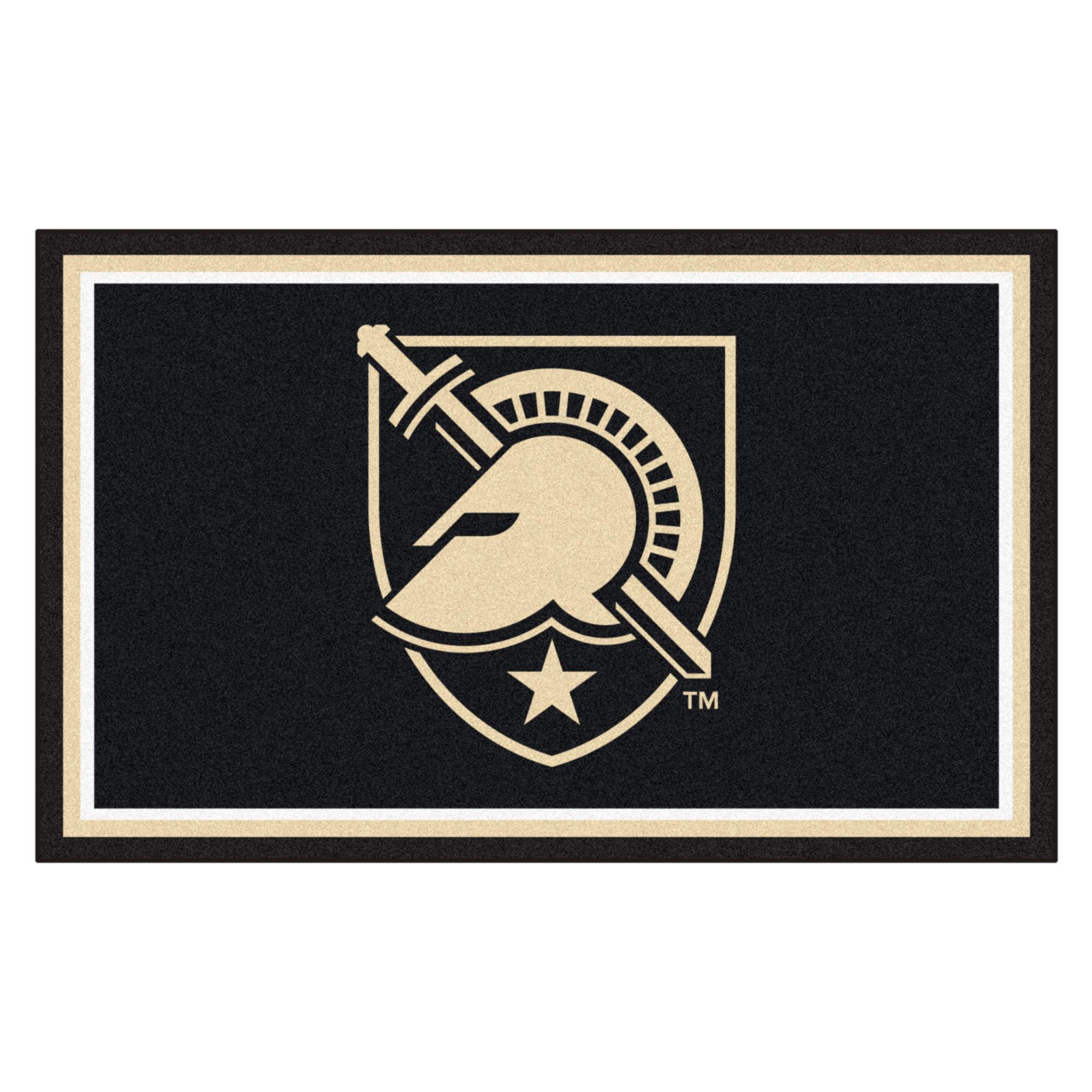 U.S. Military Academy 4 x 6 Foot Plush Non-Skid Area Rug