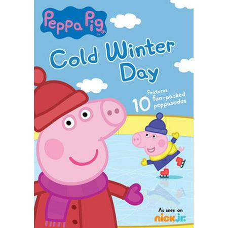 Peppa Pig: Cold Winter Day (DVD)