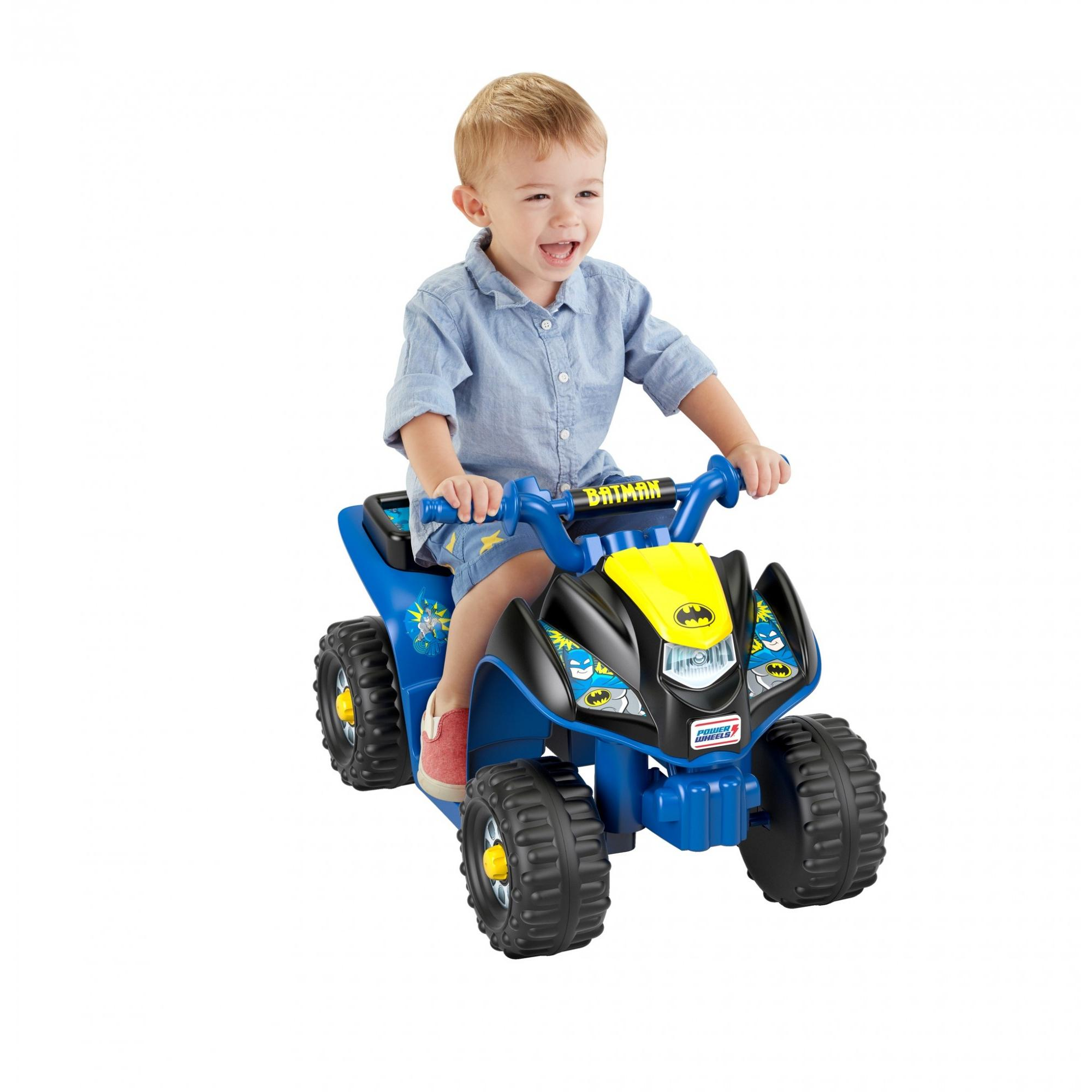 Power Wheels Batman Lil' Quad Ride-On for Toddlers