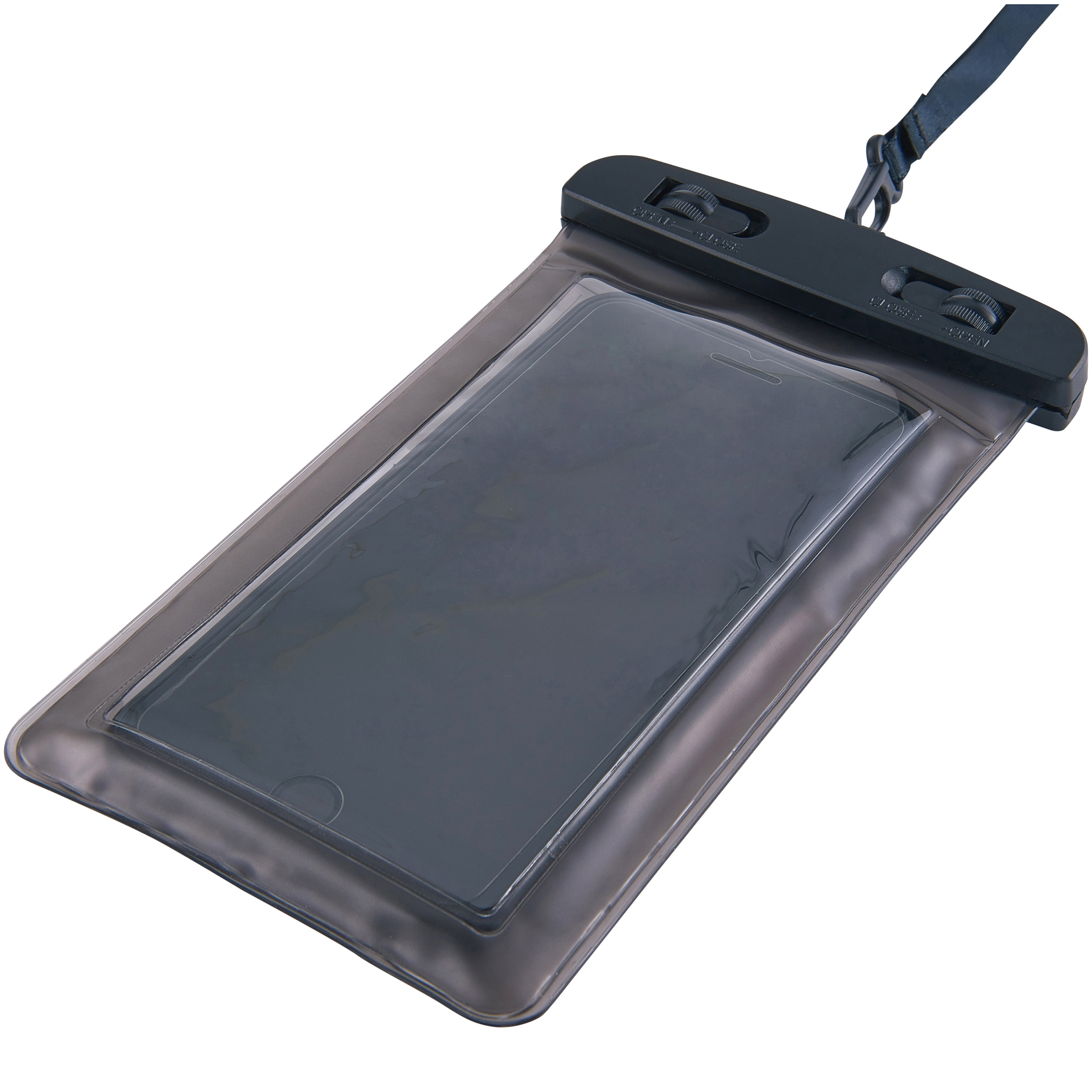 ONN™ Mobile Phone Waterproof Bag Transparent Finish with Fully Submersible Design