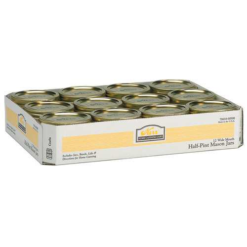 Alltrista Wide Mouth Canning Jar (Set of 12) by Alltrista