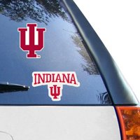 "Indiana Hoosiers WinCraft 2-Pack 4"" x 4"" Decals"
