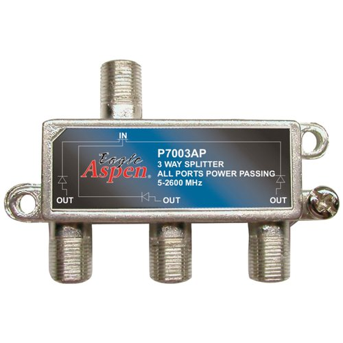 Eagle Aspen 500310 3-Way 2,600MHz Splitter