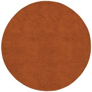 Hand-woven Asti Colorful Plush Shag New Zealand Felted Wool Rug (8' Round)