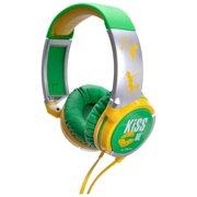 Idance Kiss Me Km200 Series Lightweight Headphones - Stereo - Green, Yellow - Mini-phone - Wired - 32 Ohm - 15 Hz - 20 Khz - Gold Plated - Over-the-head - Binaural - Circumaural - 4.92 Ft (km200_6)