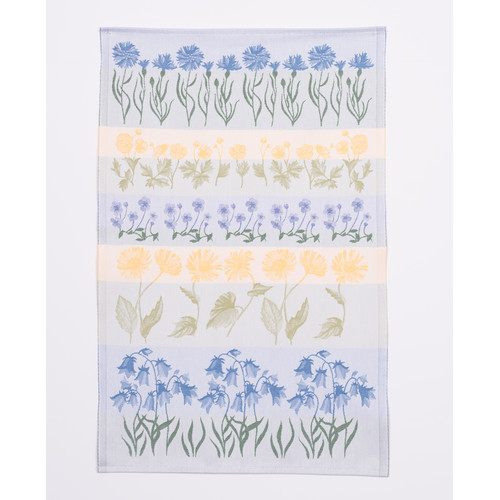 Mierco Swedish Flowers Hand Towel (Set of 2) (Set of 2)