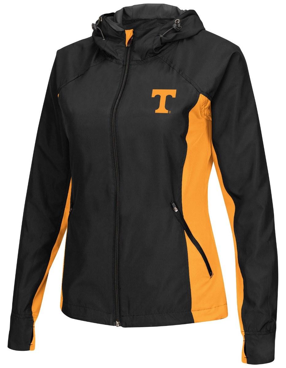 "Tennessee Volunteers NCAA Women's ""Step Out"" Full Zip Windbreaker Jacket by Colosseum"