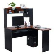 home office corner desk. Gymax Home Office L-Shaped Corner Computer Desk