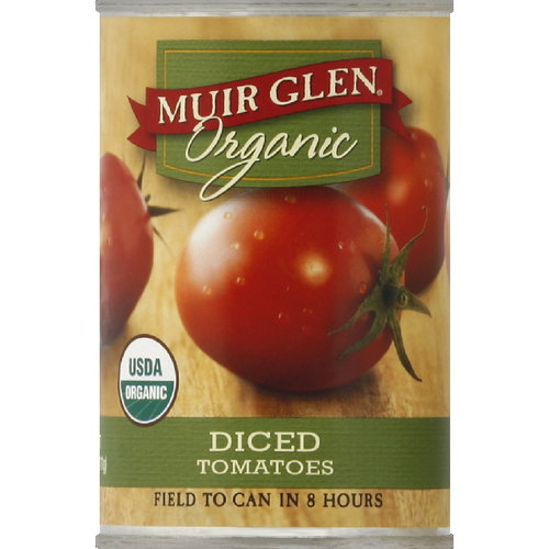 Muir Glen Diced Tomatoes, 14.5 oz (Pack of 12)
