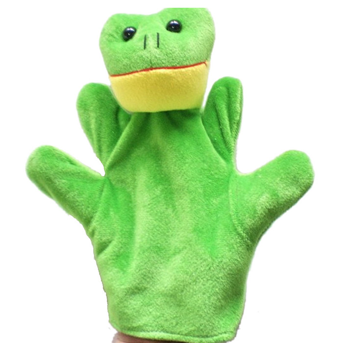 DZT1968 Baby Child Zoo Farm Animal Hand Glove Puppet Finger Sack Plush Toy