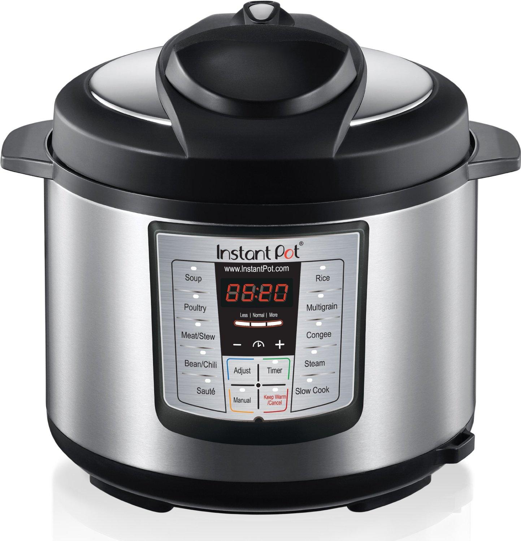 Instant Pot IP-LUX50 v2 6-in-1 Programmable Pressure Cooker